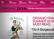 Organic Diva Promotional Emails