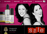 Organic Diva Website Design